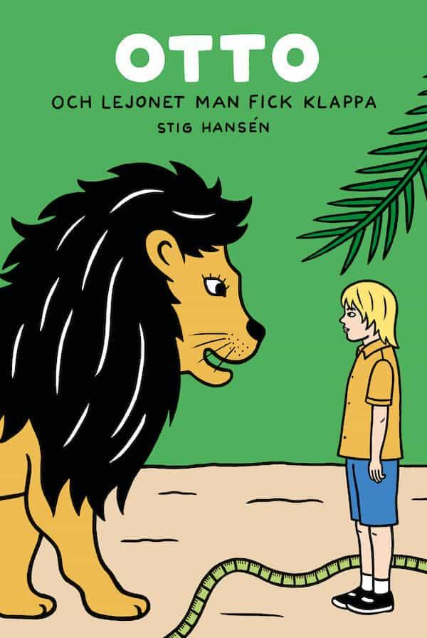 Otto och lejonet man fick klappa